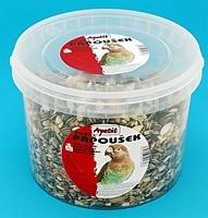 Krmivo pro velké papoušky Apetit kbelík 3l