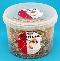 Krmivo pro králíky Apetit kbelík 3 litry