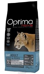 OPTIMAnova CAT ADULT RABBIT GRAIN FREE 8kg + DOPRAVA ZDARMA NEBO