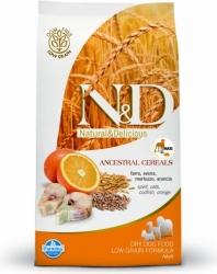 N&D Low Grain DOG Adult Maxi Codfish & Orange 2,5kg + PA
