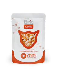 Brit Care Cat Chicken & Cheese Pouch 0.08kg