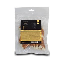 Fitmin FFL sušené maso kalciové kostičky obalované kuřecím 200g