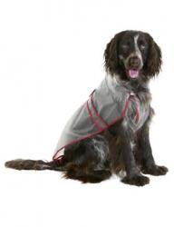 Pláštěnka pro psy PVC průhledná, různé velikosti Velikost 30 cm