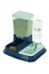 Zásobník na krmivo a vodu pro psy DuoMax