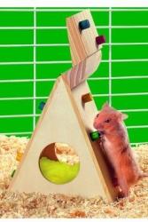 Hračka křeček lezecká stěna 12cm KARLIE 1ks