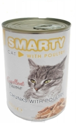 SMARTY chunks CAT POULTRY 410g
