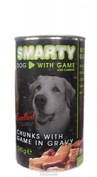 SMARTY chunks DOG VENISON 1240g
