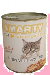 SMARTY chunks CAT POULTRY 810g