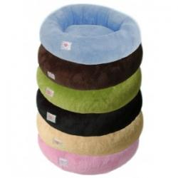 Plyšový luxusní pelech Amélie kulatý 60 cm, různé barvy Barva bé