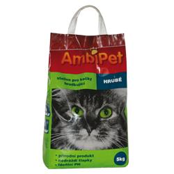 AmbiPet hrudkující podestýlka pro kočky 5kg - DOPORUČUJEME