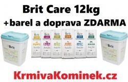Brit Care 12kg + BAREL + DOPRAVA ZDARMA!