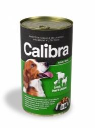 Calibra konzerva pro psy jehněčí+hovězí+kuřecí v želé 1240g