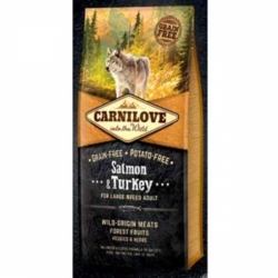 Carnilove Dog Salmon & Turkey LARGE Adult 1,5kg