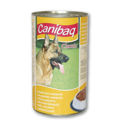 Konzerva pro psy CANIBAQ Classic drůbeží 1250g