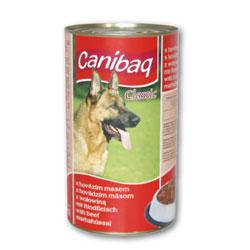 Konzerva pro psy CANIBAQ Classic hovězí 1250g