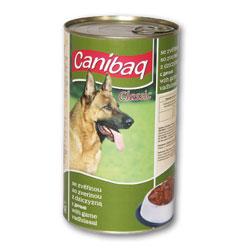 Konzerva pro psy CANIBAQ Classic zvěřina 1250g