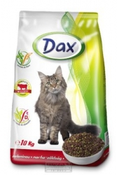 Granule pro kočky DAX HOVĚZÍ+ZELENINA 10kg