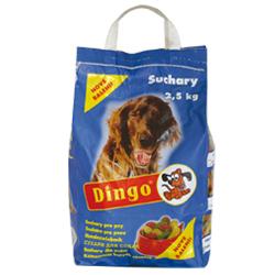 DINGO suchary pro psy 2,5 kg