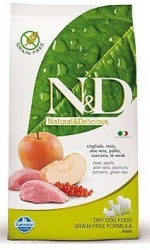 N&D Grain Free DOG Adult MINI Boar & Apple 2,5kg + PAMLS