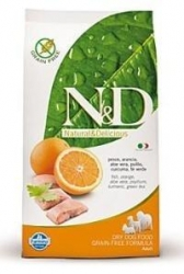 N&D Grain Free DOG Adult MINI Fish & Orange 2,5kg + PAML