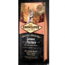 Carnilove Dog Salmon & Turkey Puppies LARGE 1,5 kg