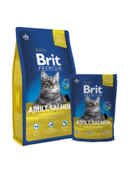 Brit Premium Cat Adult Salmon 0.3kg
