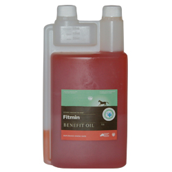 FITMIN Horse lososový olej 1 l - EXPIRAČNÍ SLEVA 30% KČ