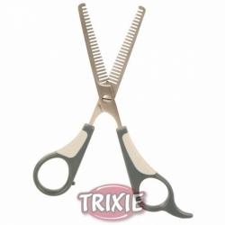Nůžky na stříhání psů efilační - prostříhávací oboustranné 18,5c