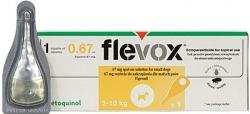 FLEVOX spot-on, různé druhy Velikost S (99 Kč)