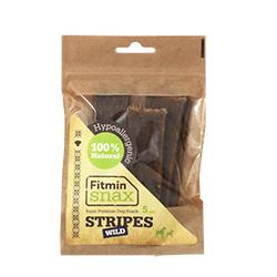 Fitmin Snax sušené maso 85% zvěřina + bylinky + máta 5ks - NOVIN