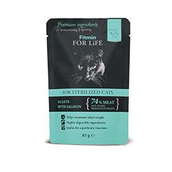 Fitmin FOR LiFE kapsička pro kastrované kočky 85g