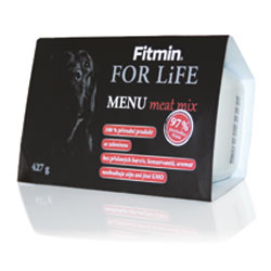 Fitmin For LIFE meat mix 427g - 97 %MASA