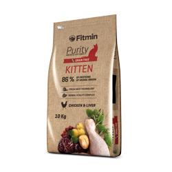 Fitmin cat Purity Kitten 10 kg + 1,5kg ZDARMA!