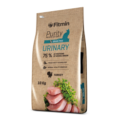 Fitmin cat Purity Urinary 10 kg + 1,5kg ZDARMA!