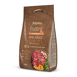 Fitmin dog Purity Grain Free Adult MINI Beef 800g