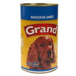 GRAND masová směs pro dospělé psy 1300g