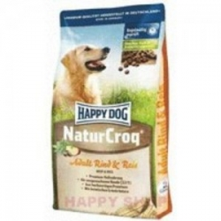 Happy Dog Natur-Croq rind&reis 15kg