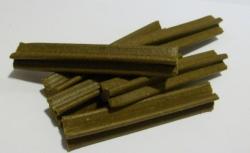 Zubní kartáček pro psy - dentální kříž játra 1ks