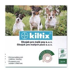 KILTIX antiparazitní obojek pro MALÉ psy 38 cm - SLEVA 40 KČ!