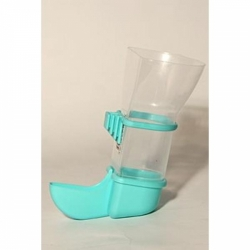 Krmítko plastové automatické malé pro ptáky,exoty