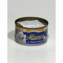 Miamor Cat Filet konzerva tuňák+kalamáry 100g