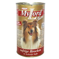 MyLord pes hovězí + játra 1240 g