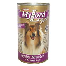MyLord pes králík + srdce 1240 g