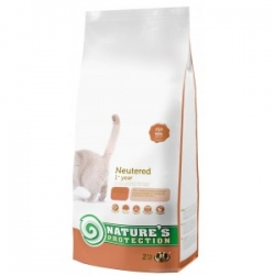 NATURES PROTECTION CAT NEUTERED 2KG