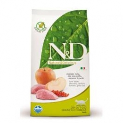 N&D Grain Free CAT Adult Boar & Apple 1,5kg + PAMLSKY ZD