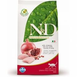 N&D Grain Free CAT Adult Chicken & Pomegranate 10kg + DO