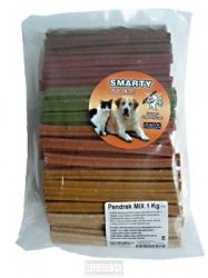 Zubní kartáček MINI pendrek pro psy 1kg cca 100 kusů