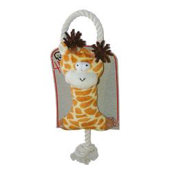 PLYŠÁK žirafa + bavlna 45cm