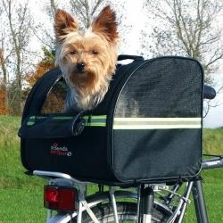 Přepravka pro psy na zadní nosič jízdního kola 35x28x29cm