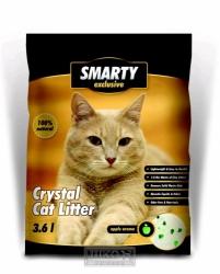 Silikátové stelivo pro kočky SMARTY EXCLUSIVE 3,6 litrů
